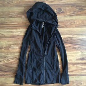 Black Hooded Lululemon Define-like Jacket